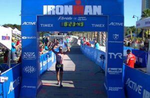 Rinalds Sluckis finishes Ironman Florida 2013