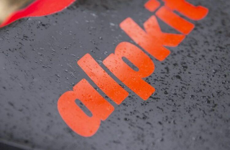 Alpkit Lotic wetsuit logo