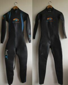 Wetsuits Blueseventy Helix TST and Sprint