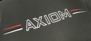 Huub axiom wetsuit logo