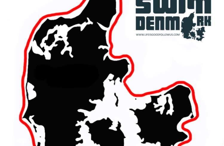 Swim around Denmark logo