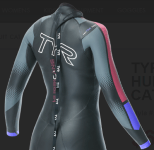 TYR Hurricane cat3 wetsuit