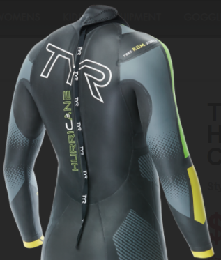 TYR Hurricane cat 5 wetsuit
