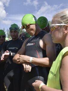 Rinalds Sluckis before start of Tartu TriSmile Triathlon 2016