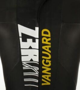 Z3ROD Vanguard wetsuit logo