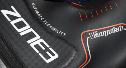 Zone3 wetsuit logo and vanquish wetsuit logo
