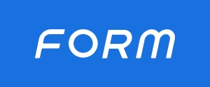 Form swim googles logo